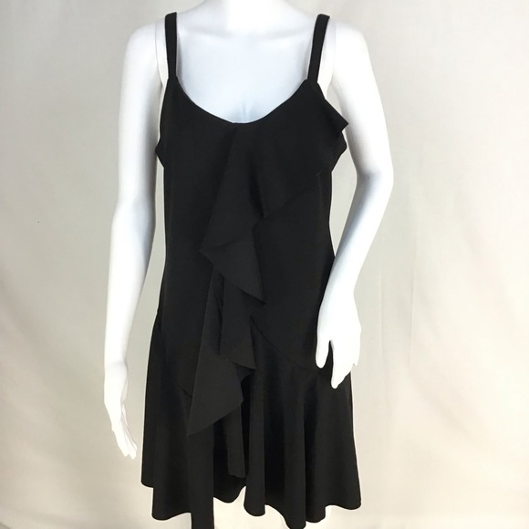 Spense Dresses & Skirts - NWT Black Front Ruffle Chest to Hem Dress See pic